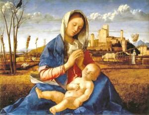 Giovanni Bellini, madonna del prato