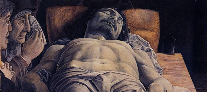 Olmi vs Mantegna: il nuovo allestimento del Cristo Morto