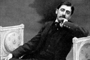 Marcel Proust c. 1900 - French novelist, 1871-1922.