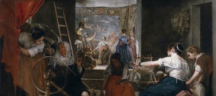 Aracne all'arcolaio e i miti nascosti di Velàsquez