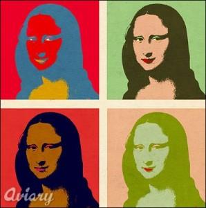 Monna Lisa, Andy Warhol