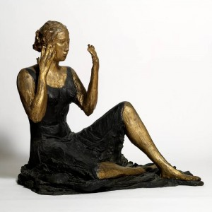 Lucio Fontana, Signorina seduta, 1934
