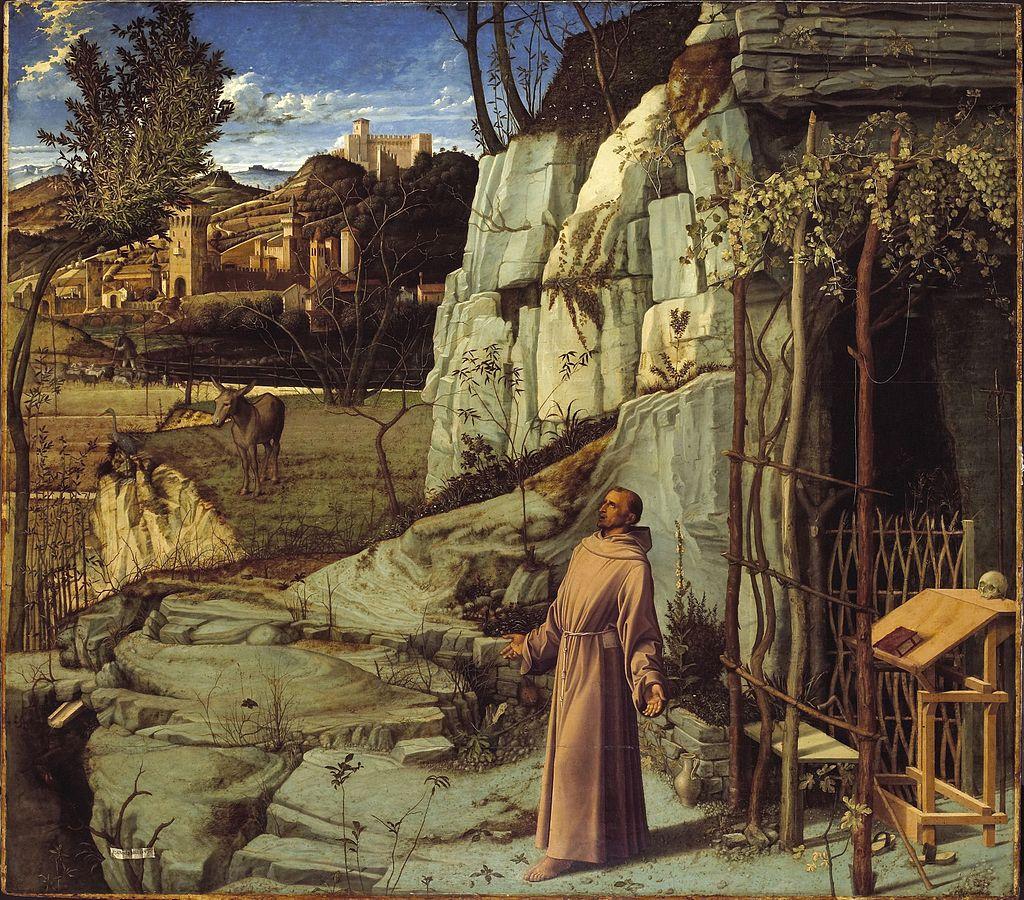Giovanni Bellini, Le stigmate di San Francesco, 1475-80