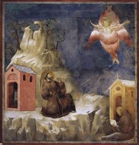 Giotto - stimmate di San Francesco