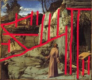 Giovanni Bellini, Le stimmate di San Francesco, 1480-85