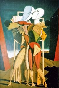 G. De Chirico, Ettore e Andromaca, 1917