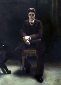 V. Corcos, Ritratto di Pietro Mascagni, 1891
