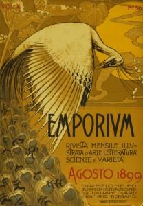 La rivista di arti visive Emporium è stata un importante veicolo di diffusione dell'art nouveau in Italia
