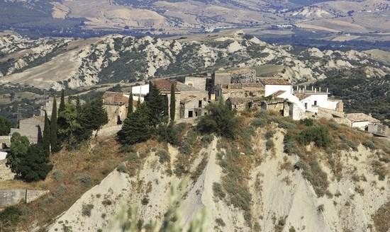 Una veduta di Aliano (Mt)