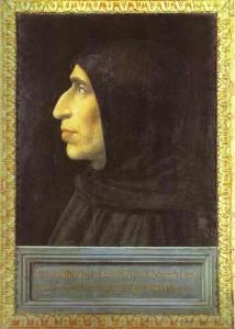 Fra Bartolomeo, Ritratto di Girolamo Savonarola, 1498