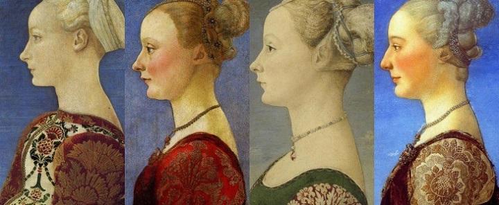 Le quattro dame di Piero del Pollaiolo